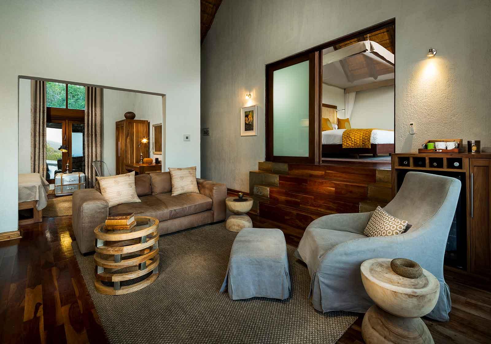 Ulusaba Rock Lodge Bedroom