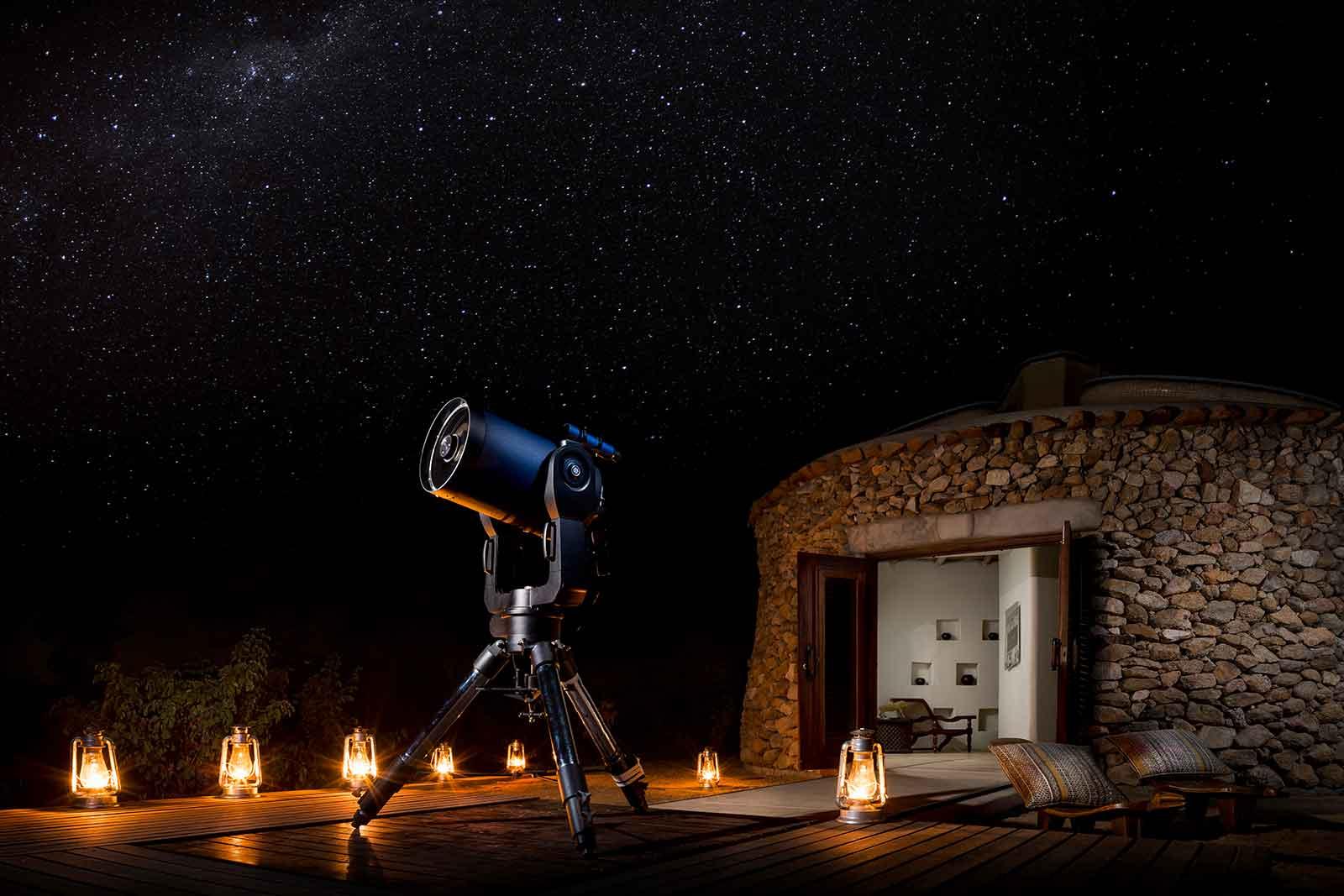 Ulusaba Star Gazing