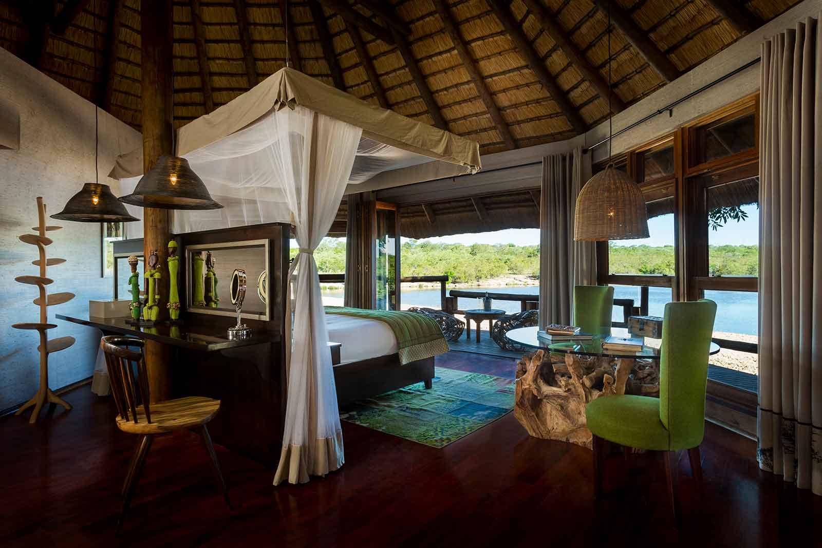 Accommodation at Ulusaba Safari Lodge