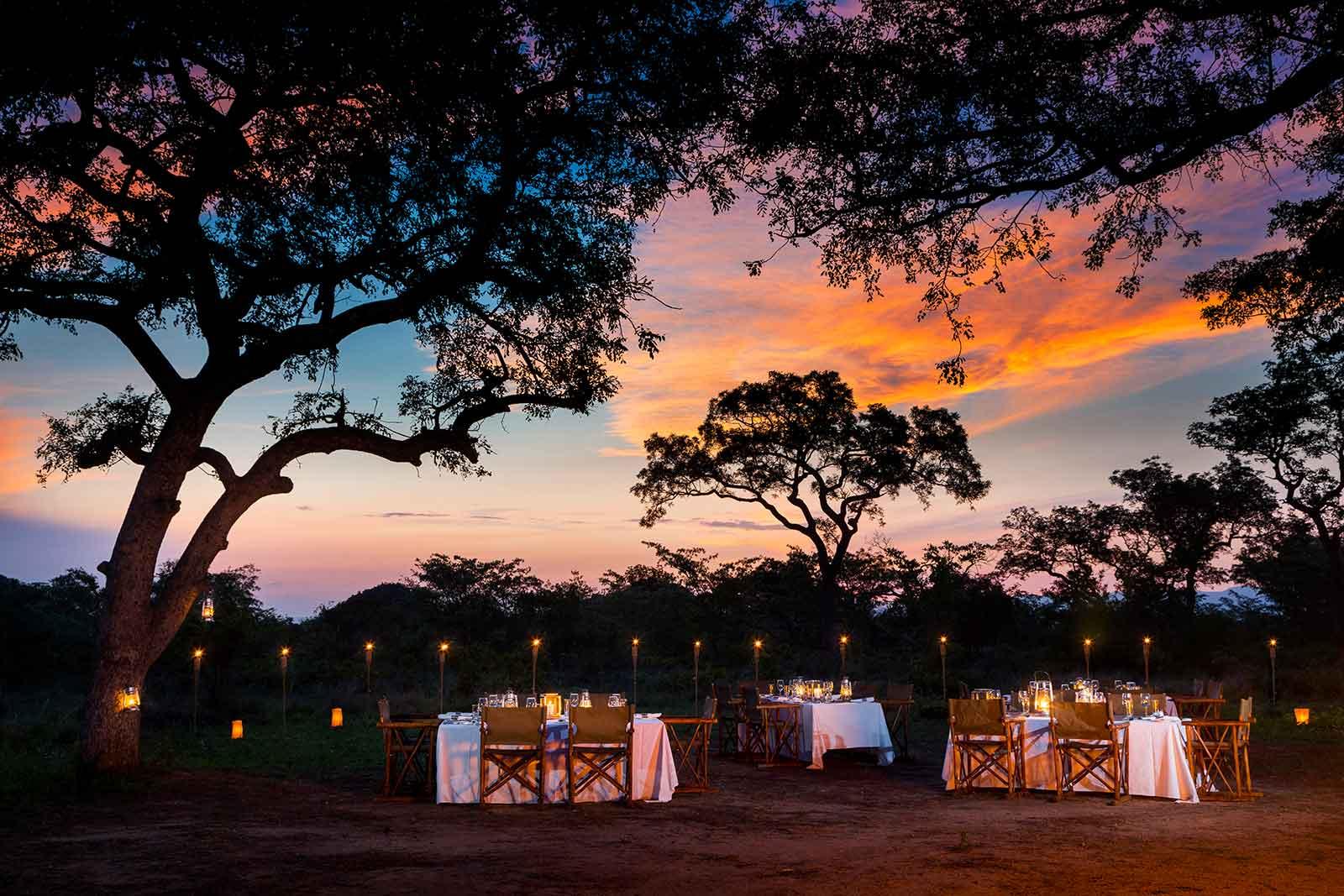 Ulusaba Safari Lodge Dinner