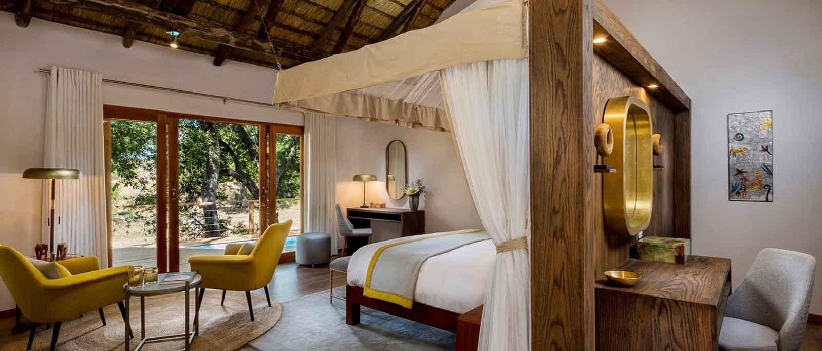 Ulusaba Safari Lodge Bedroom