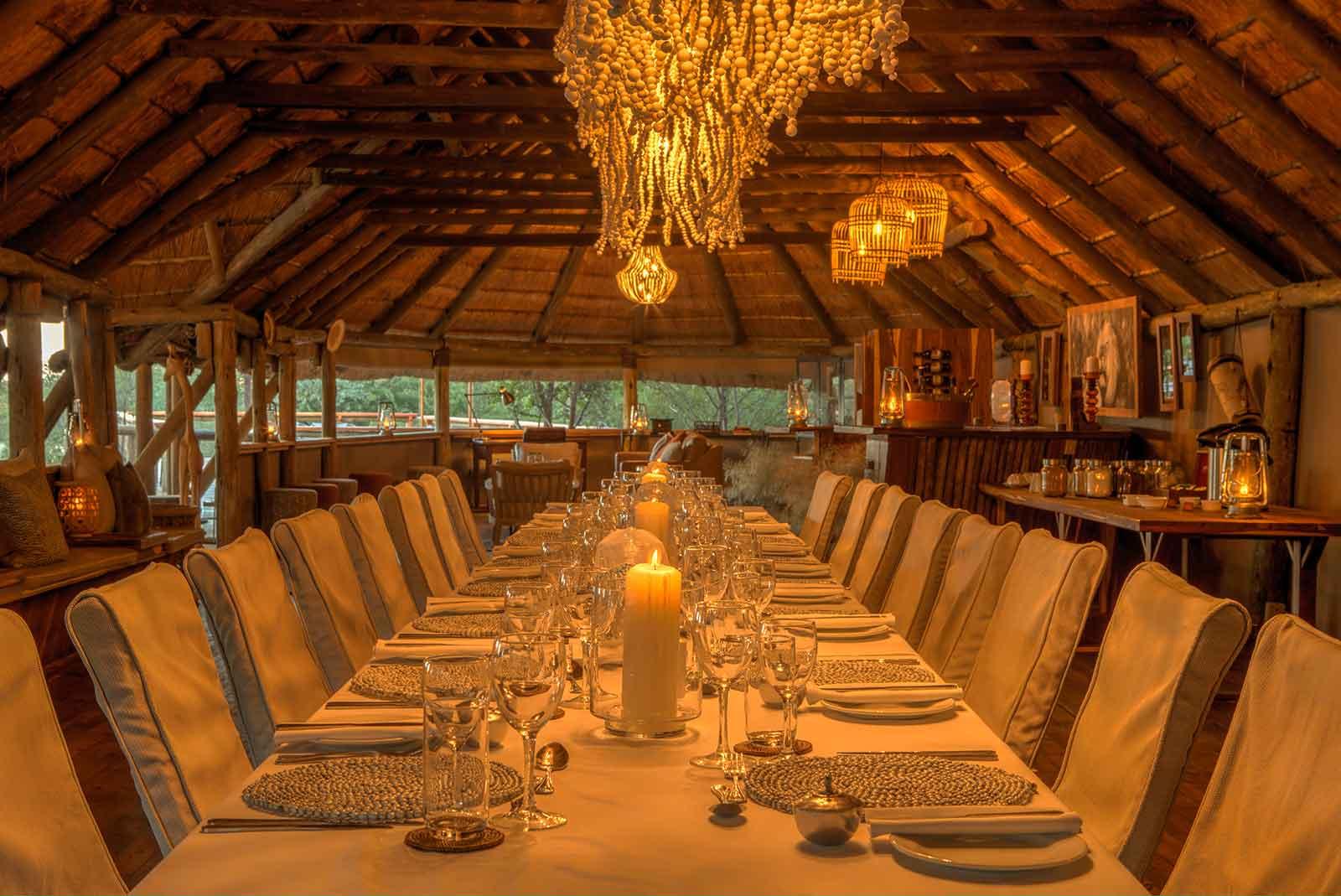 Dinaka Camp Dining