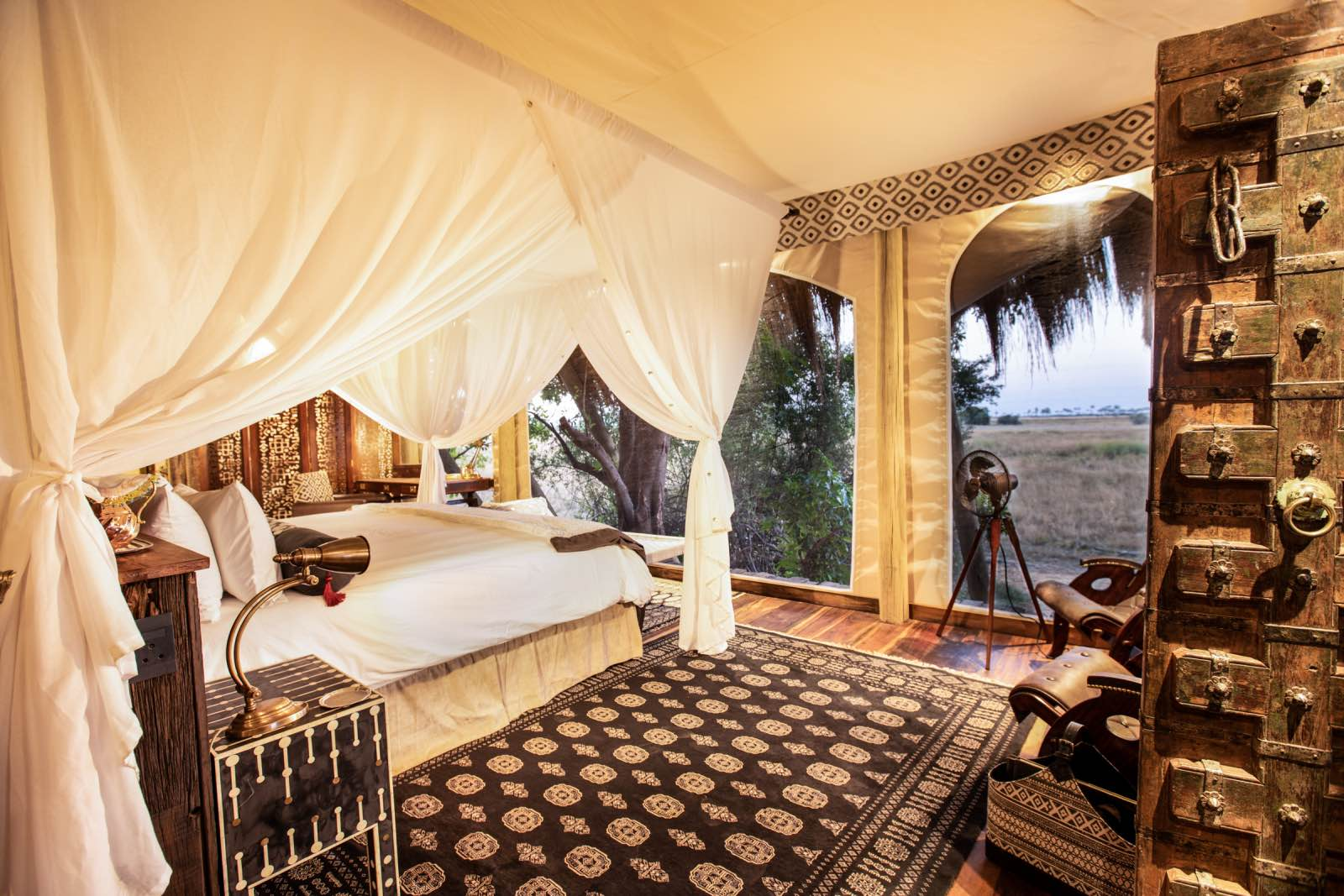 Selinda Camp, Reopening of Selinda Camp is all about Earth, Fire, Air, and Water in the Delta
