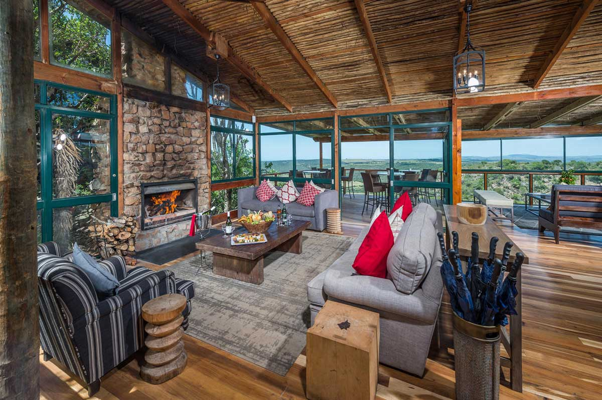 Deck Area at the Main Lodge