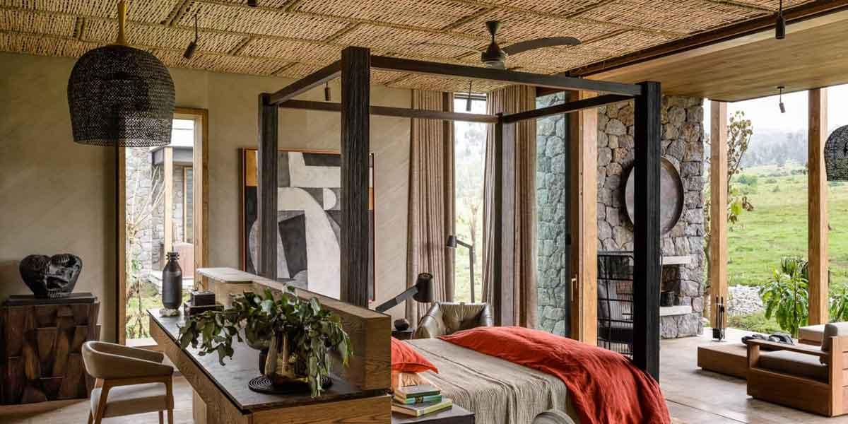 Kataza House Bedroom Rwanda