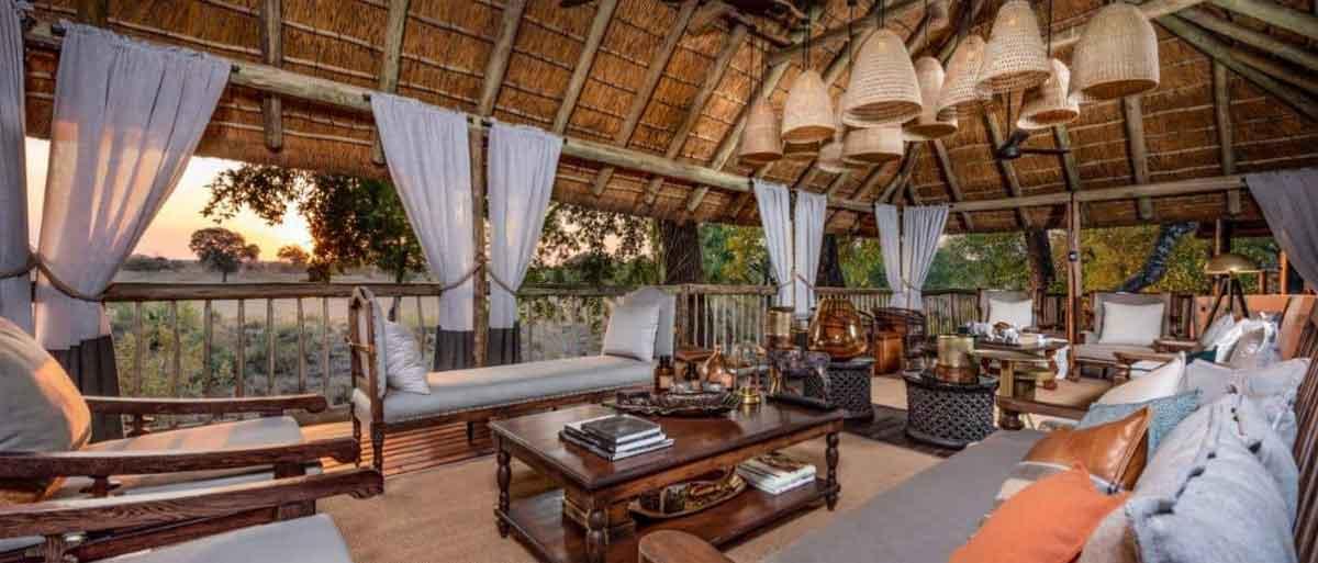 Sabi Sand Wedding Venue Lounge