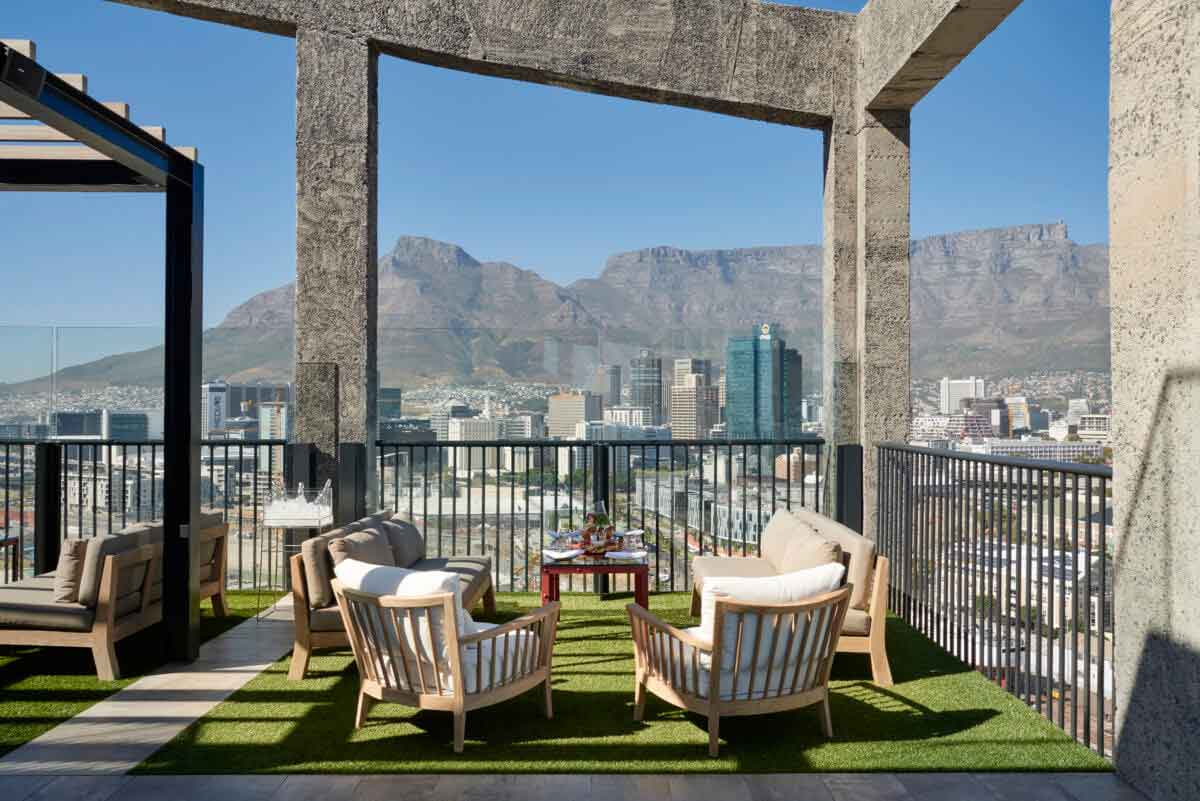 The Silo Rooftop Garden Bar