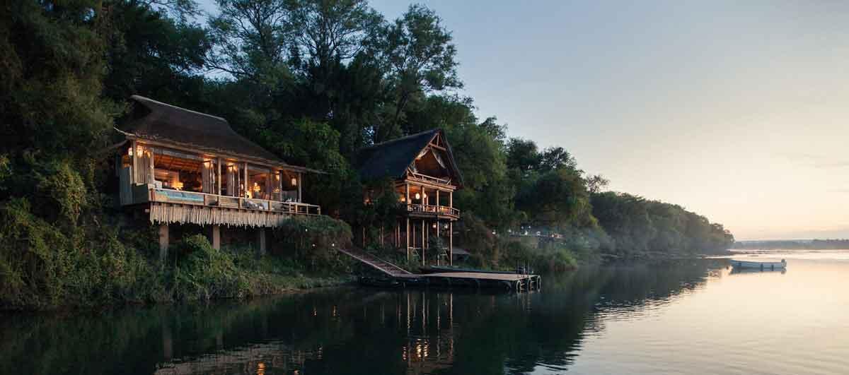 Tongabezi on Zambezi River