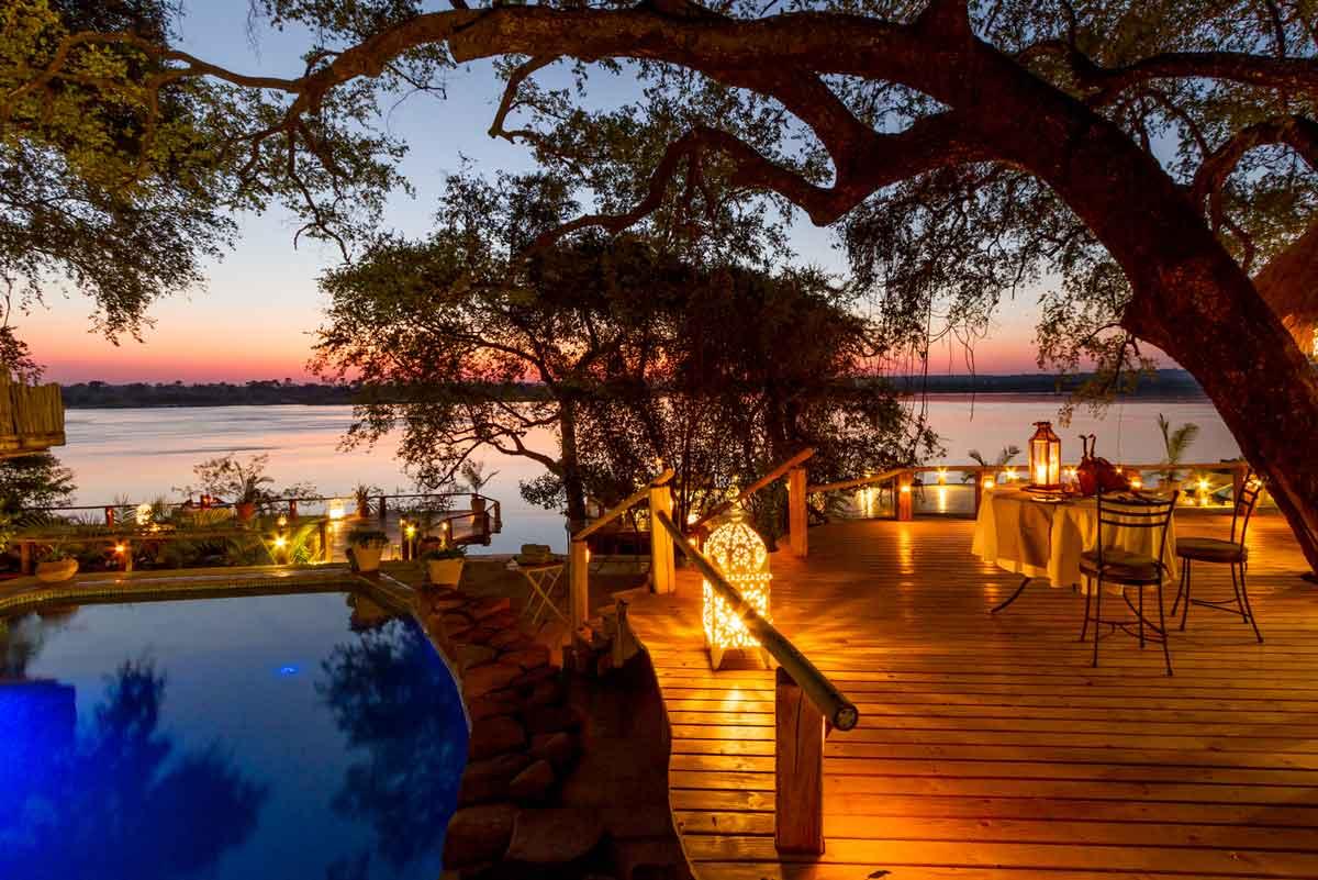 Tongabezi Zambezi River Views