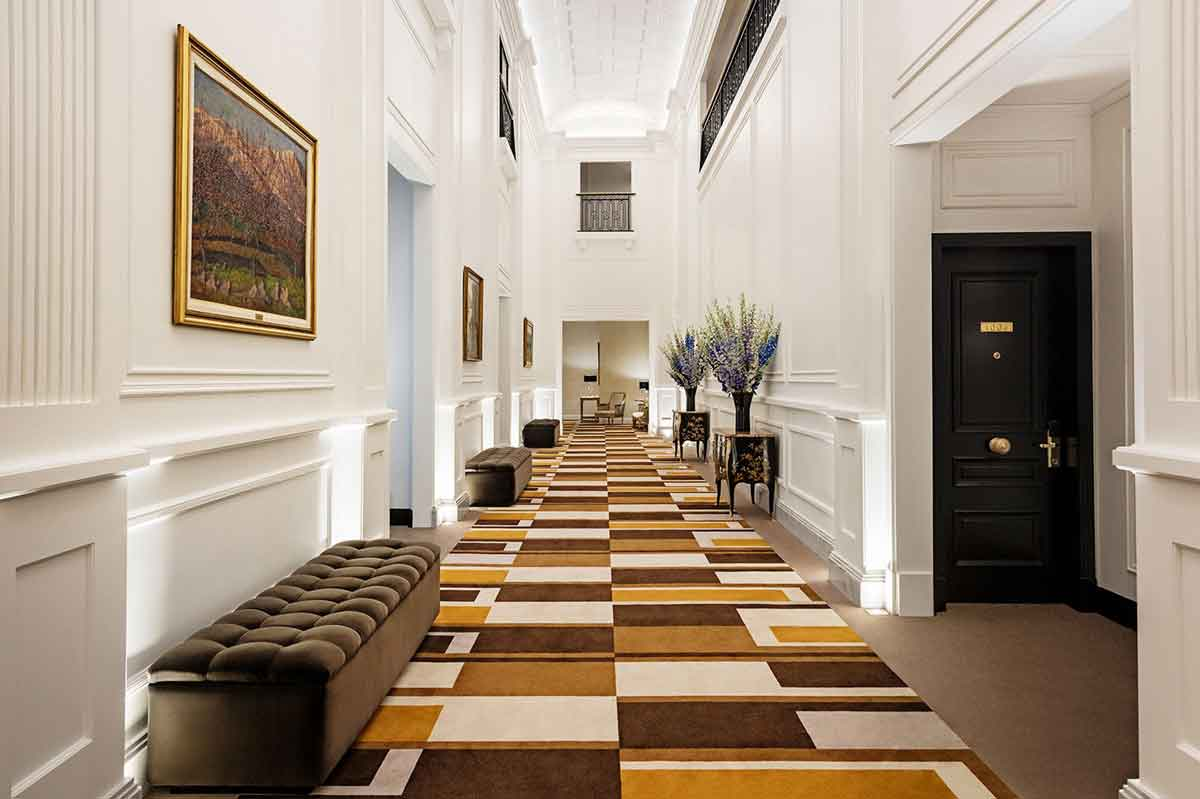 Alvear Palace Hallways