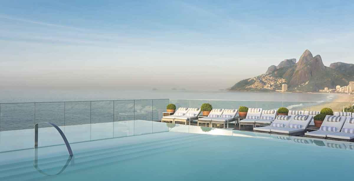 Fasano Hotel in Rio