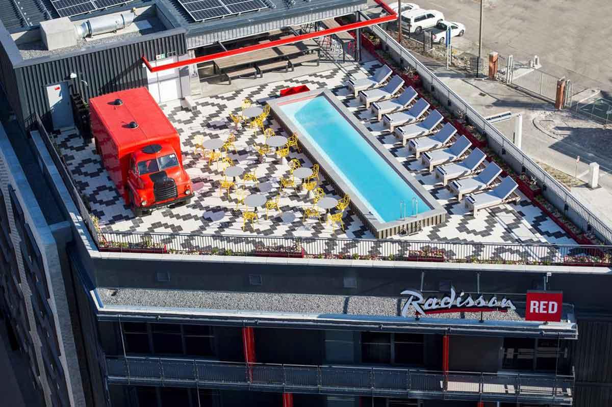 Radisson Red Pool Top