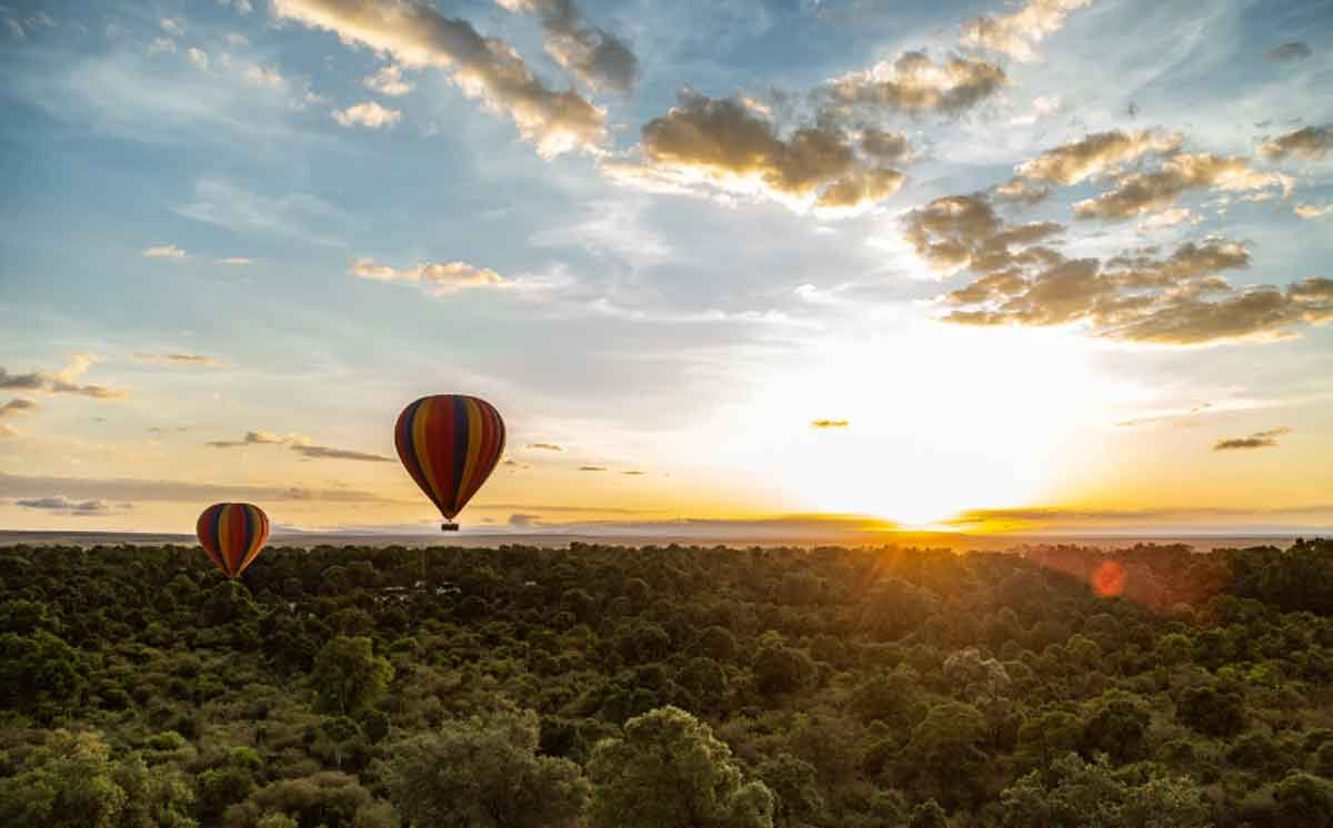 Angama Hot Air Balloon