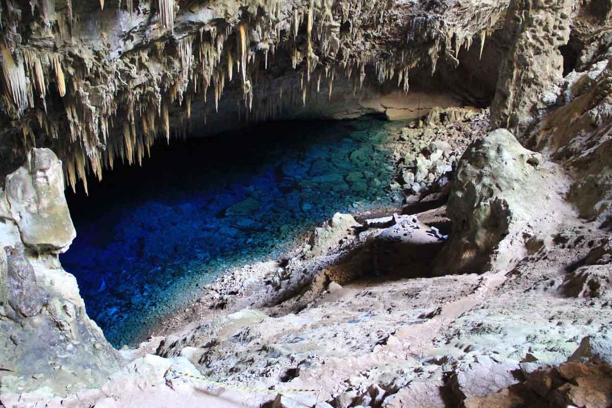Bonito Brazil Cave