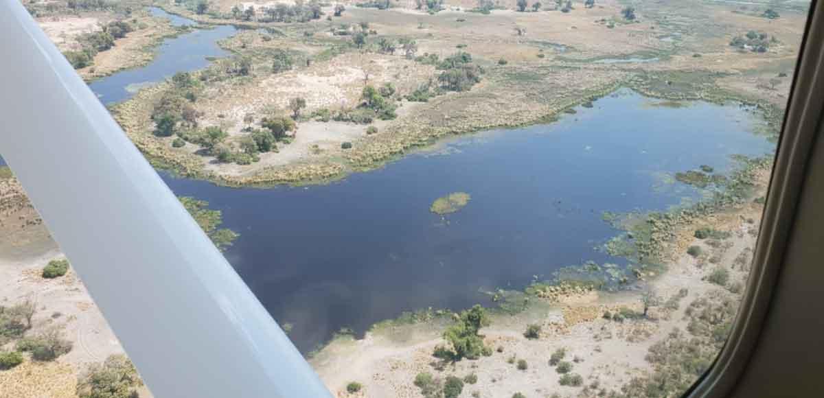 Aerial Views of Botswana