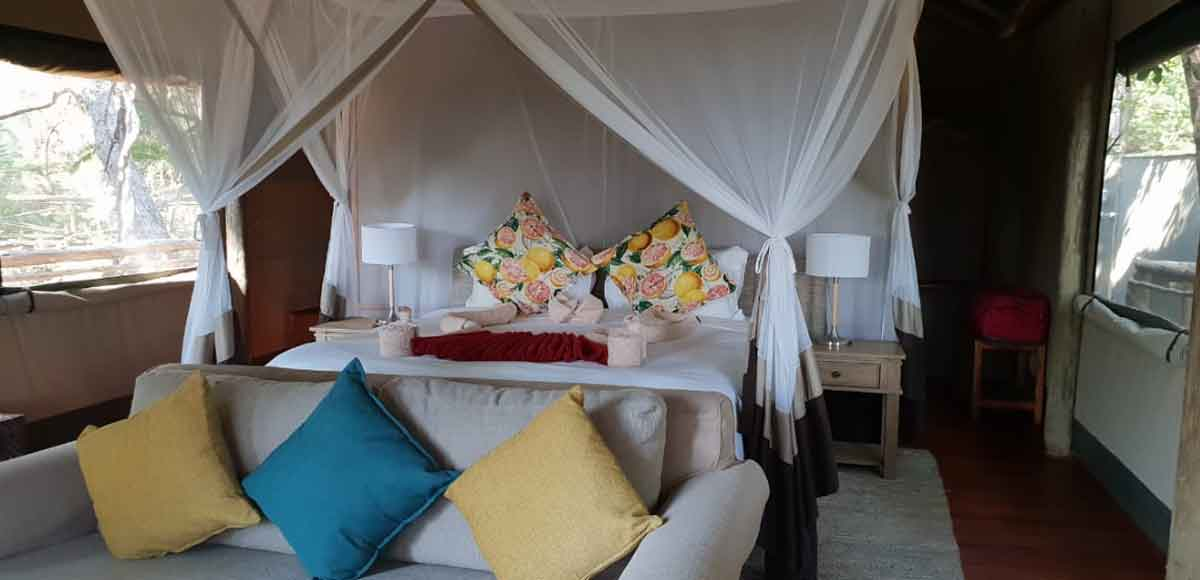 Tented Camp in Botswana
