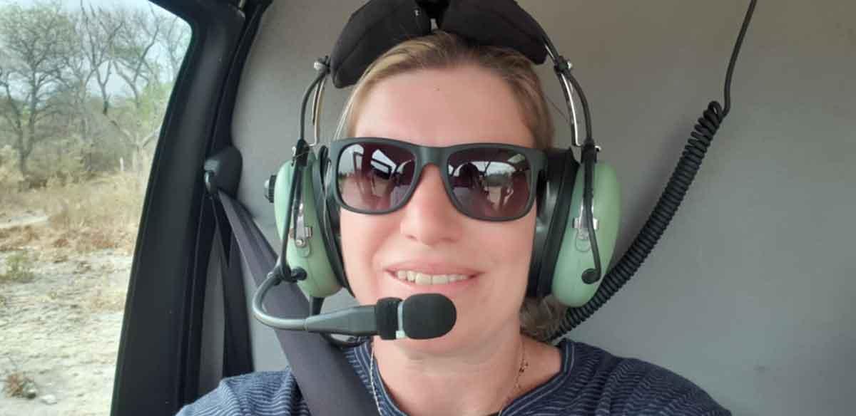 Natasha on a Small Flight