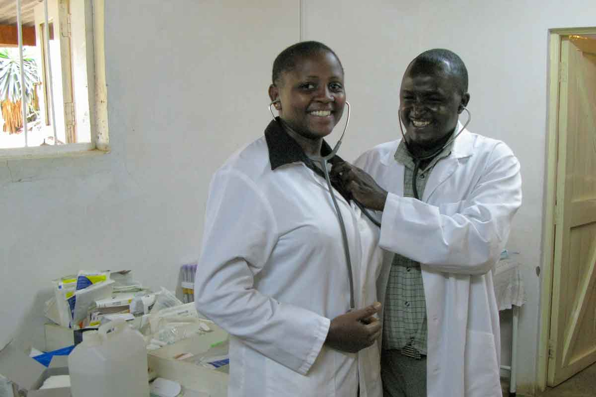 Stethoscopes Supplied in Kenya