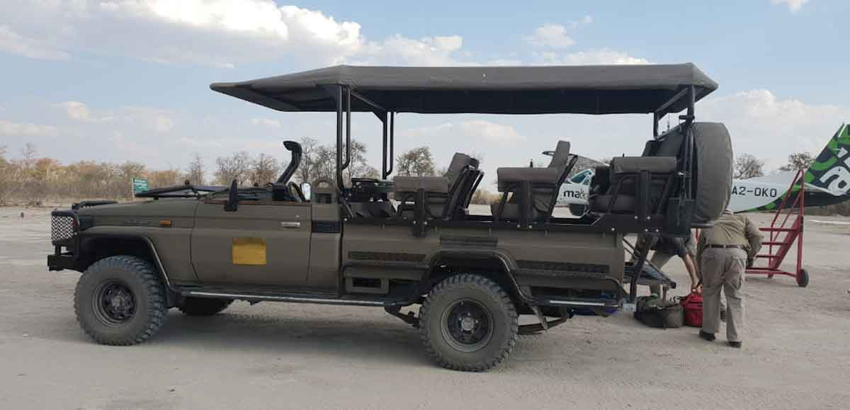 Game Drives at Golden Camp