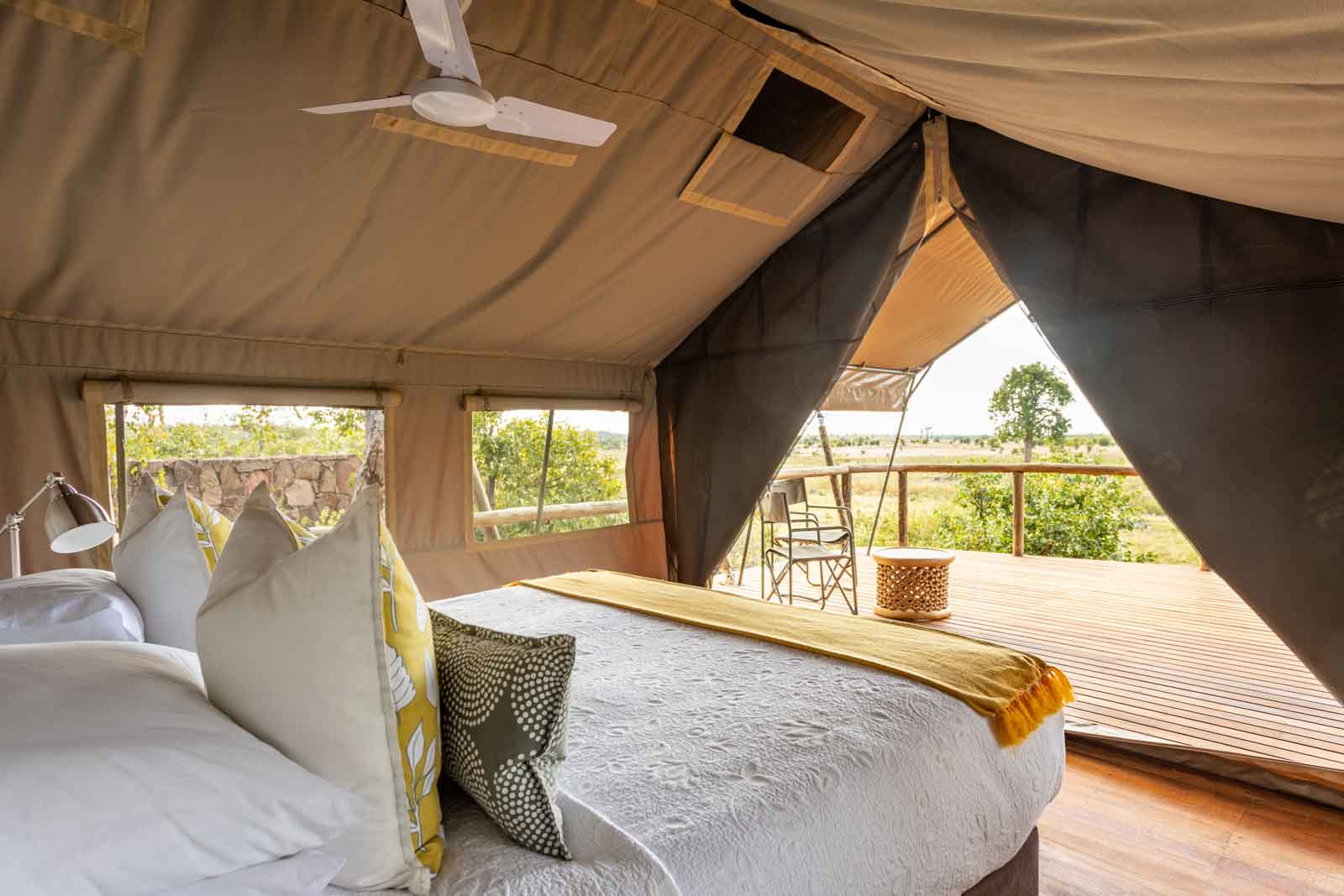 Deteema Springs Tents with View