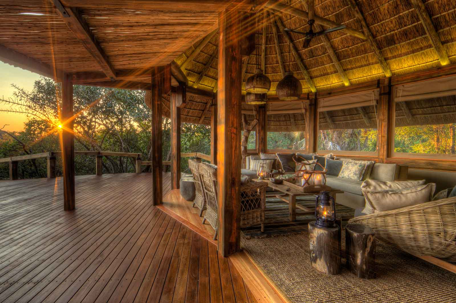 Camp Okavango Lounges