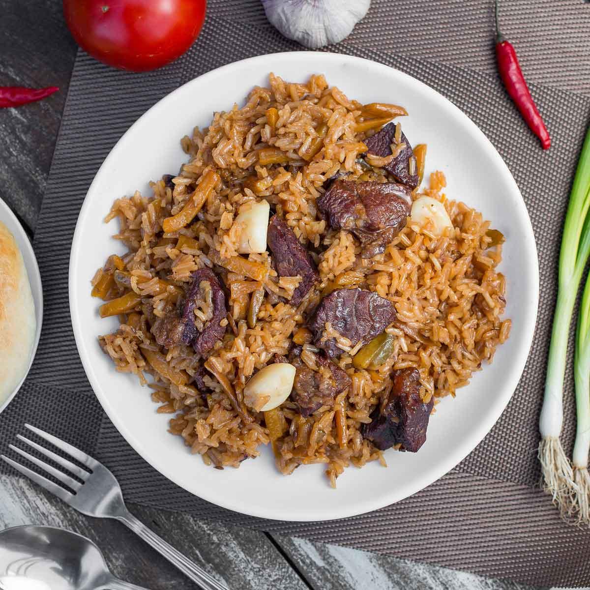 Pilau Rive Dish of Kenya