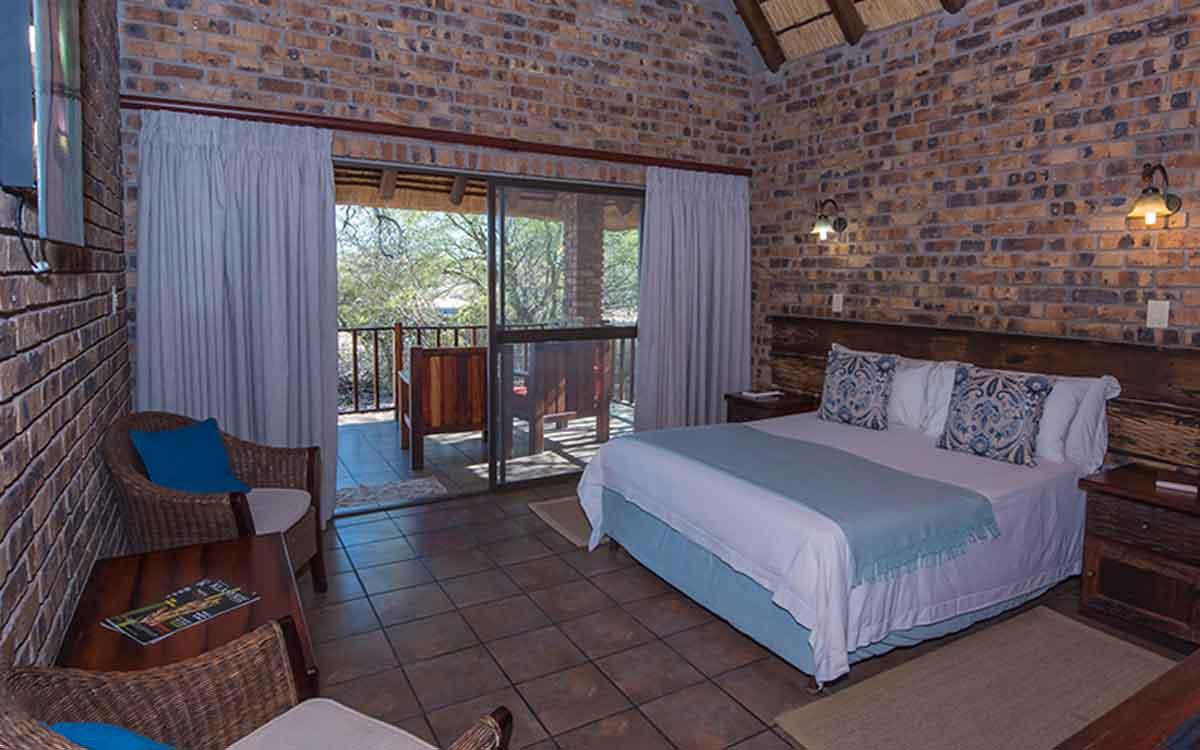 Gomo Gomo Game Lodge Bedroom