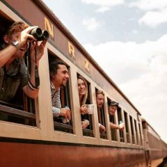 Safari Train Between Victoria Falls and Bulawayo