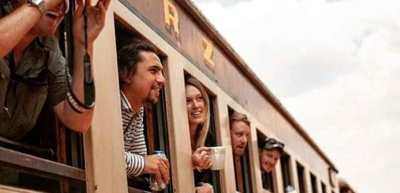 Safari Train Between Victoria Falls and Bulawayo