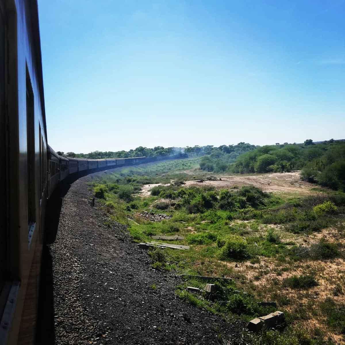 Safari Train in Zimbabwe