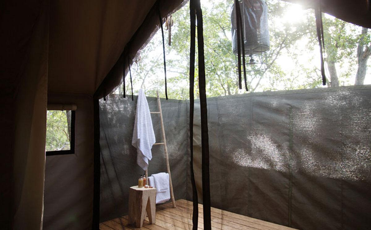 Simbavati Outdoor Shower