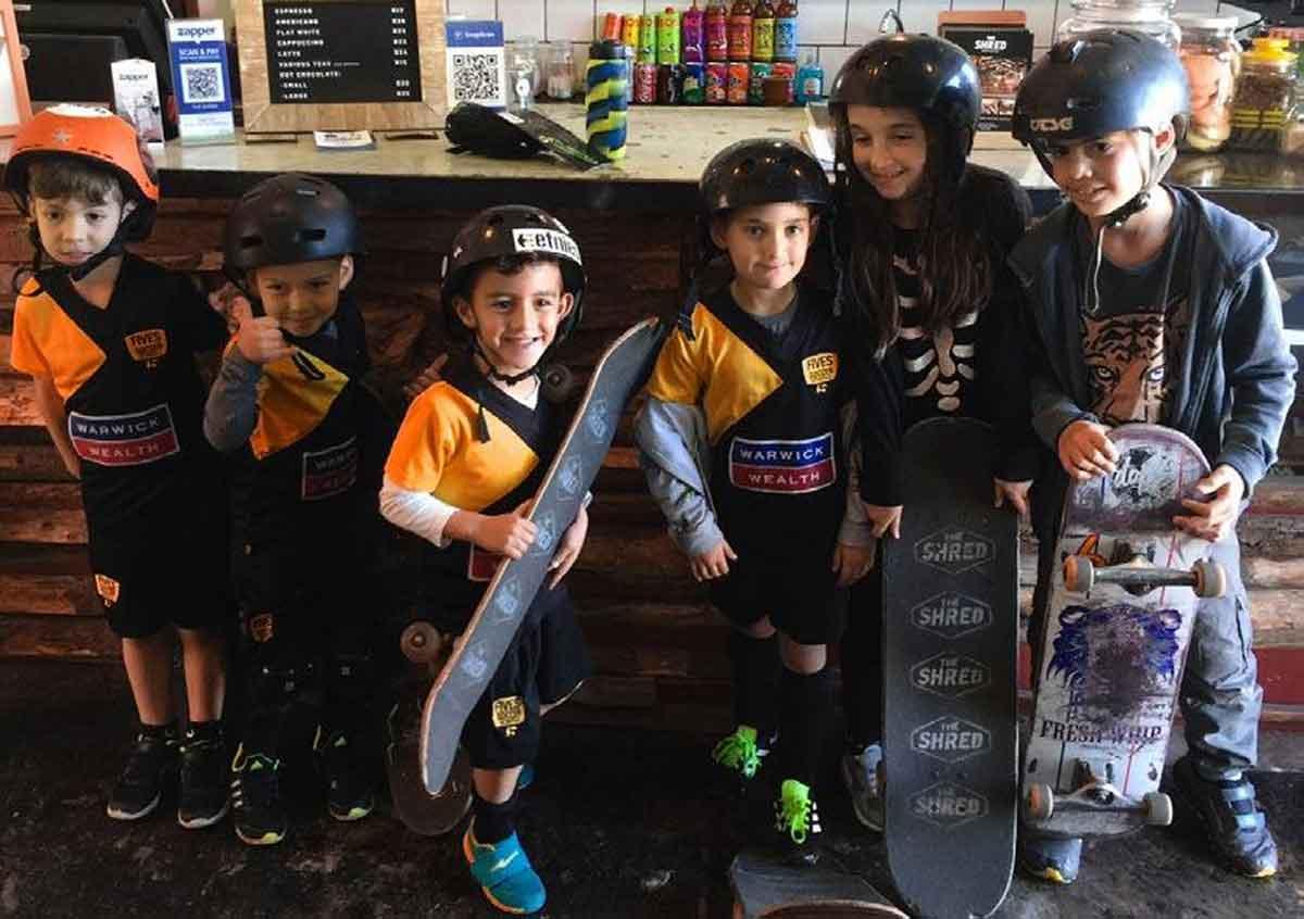 The Shred Skatepark Kids