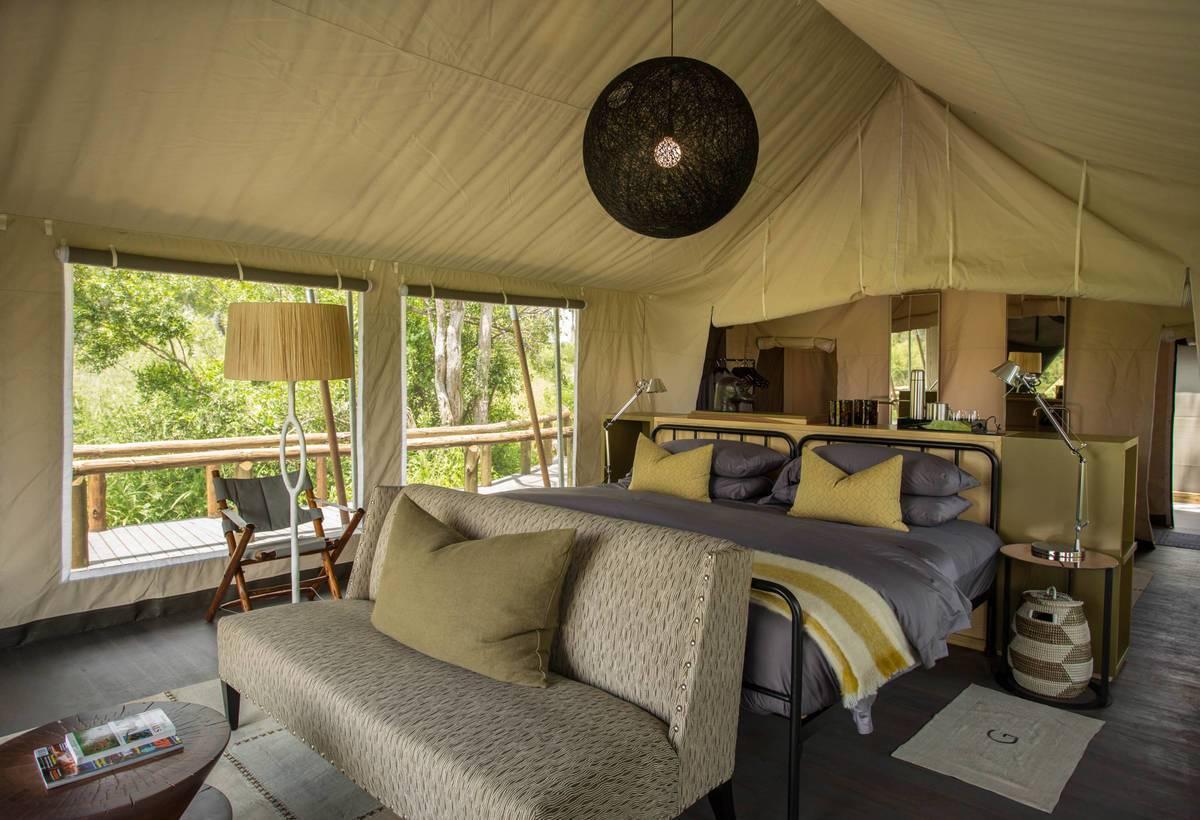 Gomoti Plains Bedroom