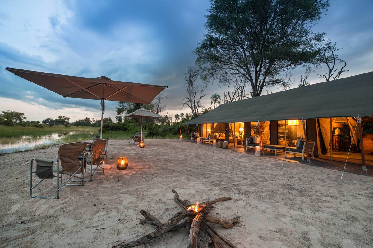 Gomoti Plains Botswana
