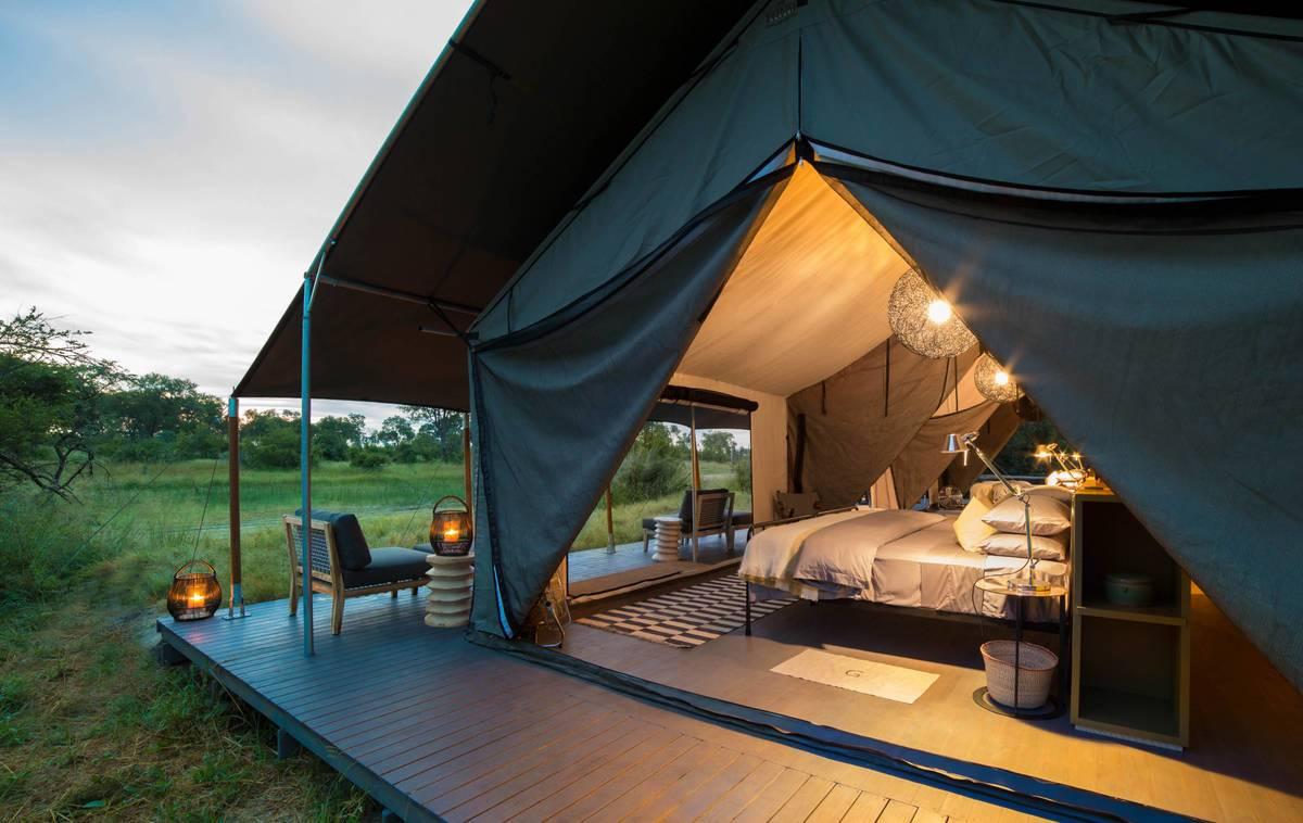 Gomoti Plains Classic Tented Camp
