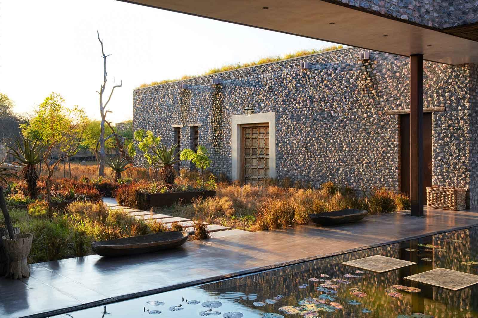 Stone Architecture at Kubili Villa