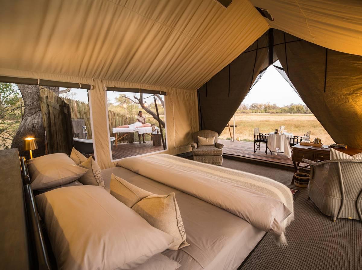 Machaba Camp Tented Room