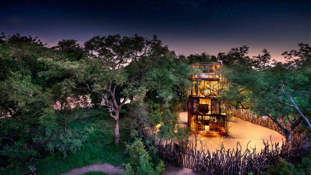 New, romantic safari treehouse in South Africa's Greater Kruger