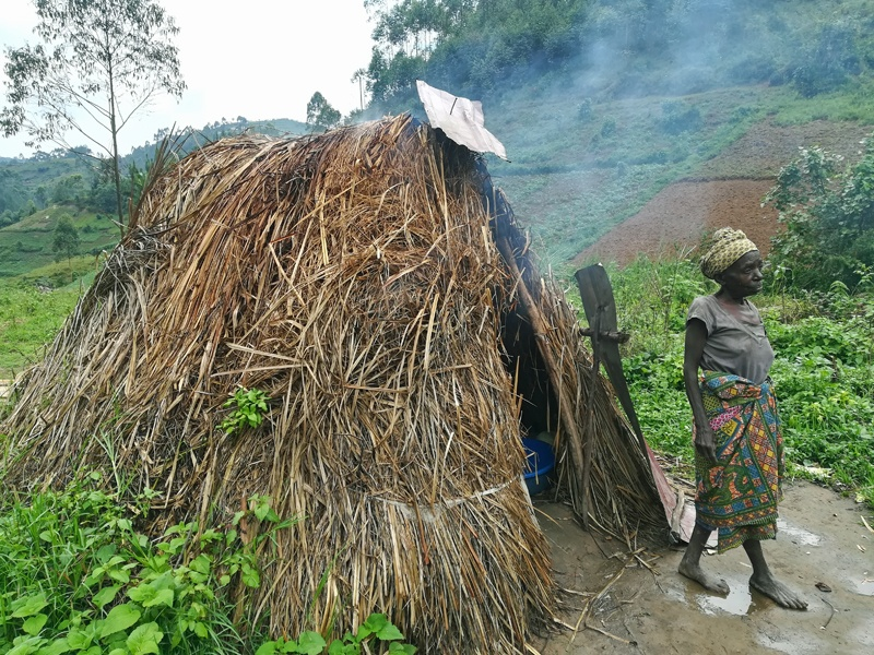 Batwa Tribe Traditional living