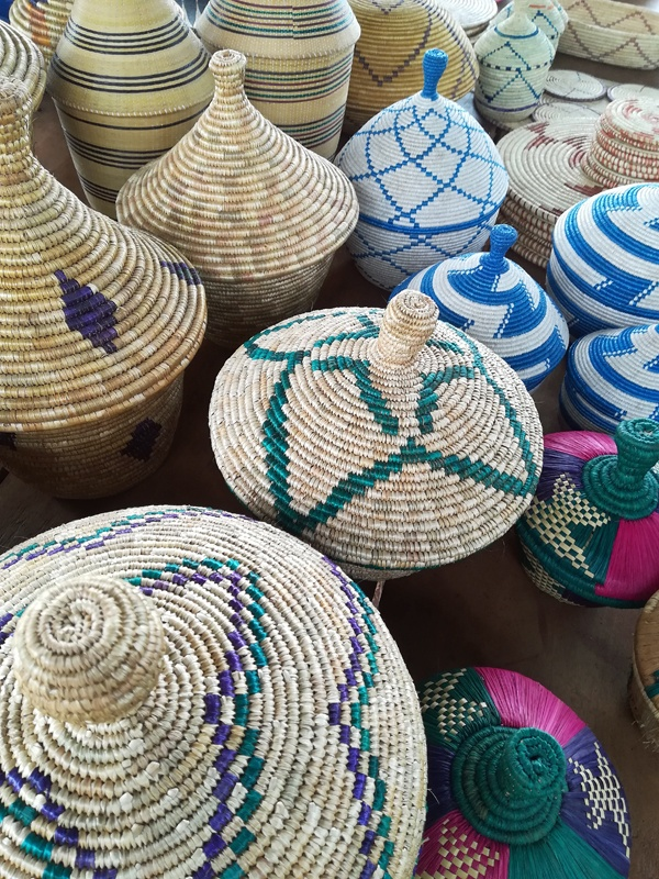 Basket Weaving in Uganda