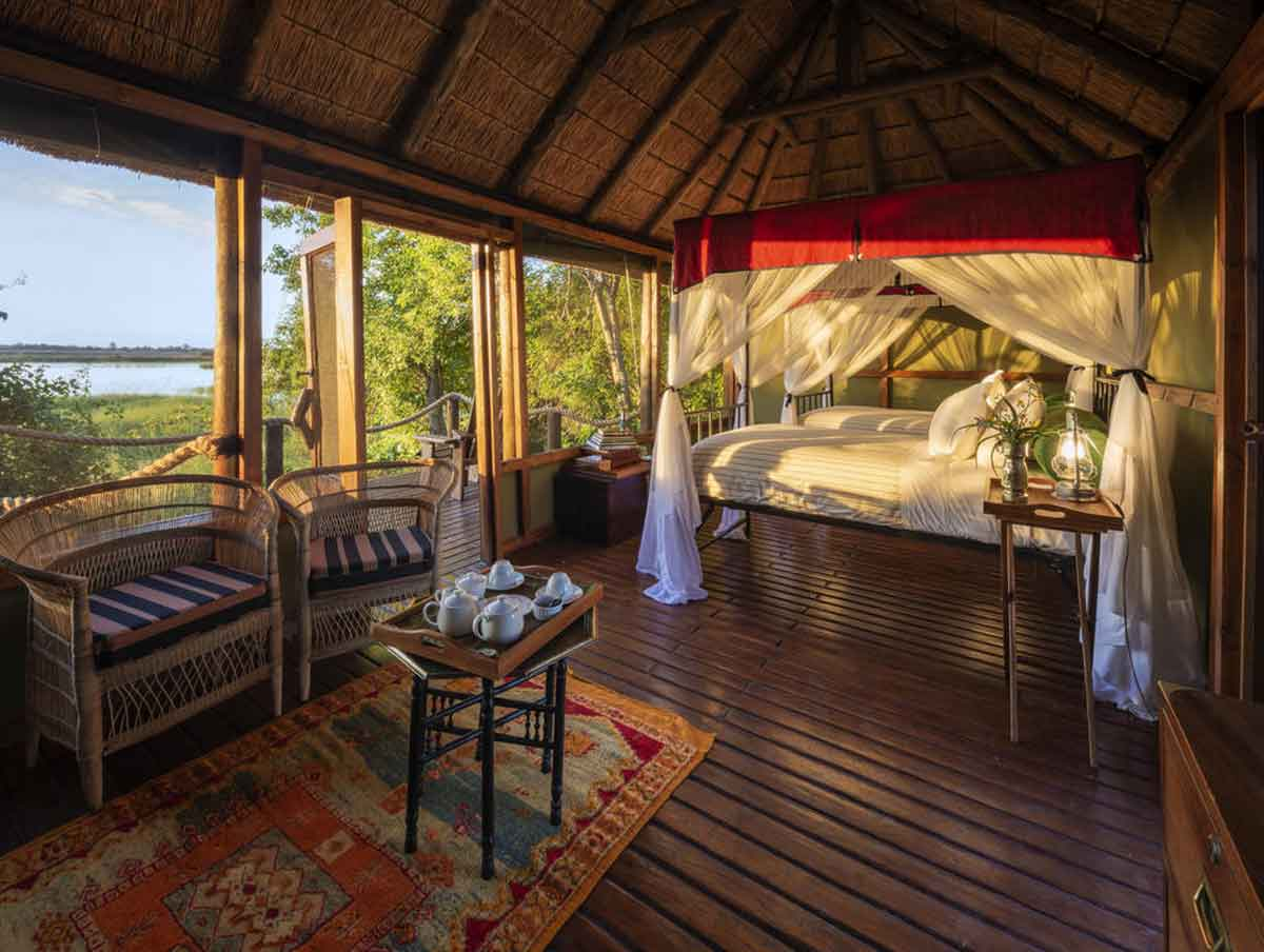 Mapula Lodge Deck and Views