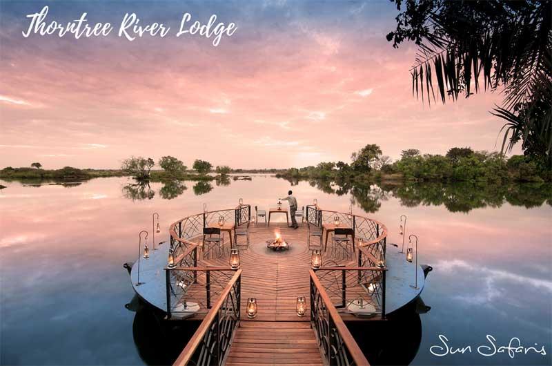 Sun Safaris Victoria Falls Hotels - Thorntree River Lodge