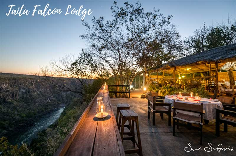 Sun Safaris Victoria Falls Hotels - Taita Falcon Lodge