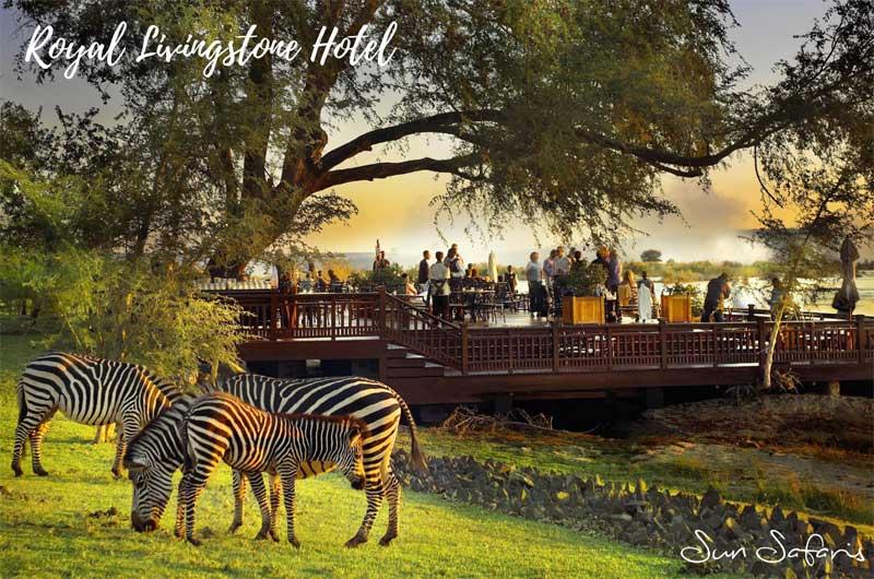 Sun Safaris Victoria Falls Hotels - Royal Livingstone Hotel