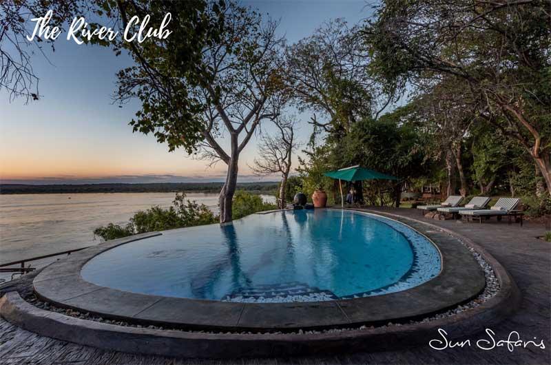 Sun Safaris Victoria Falls Hotels - The River Club