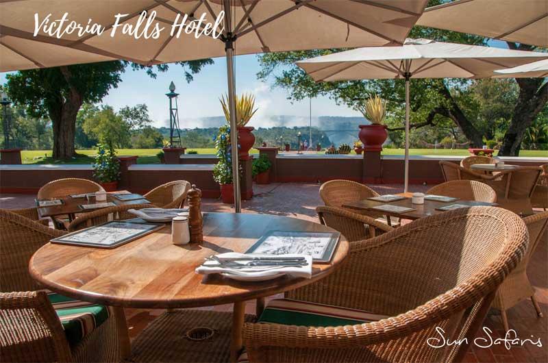 Sun Safaris Victoria Falls Hotels - Victoria Falls Hotel