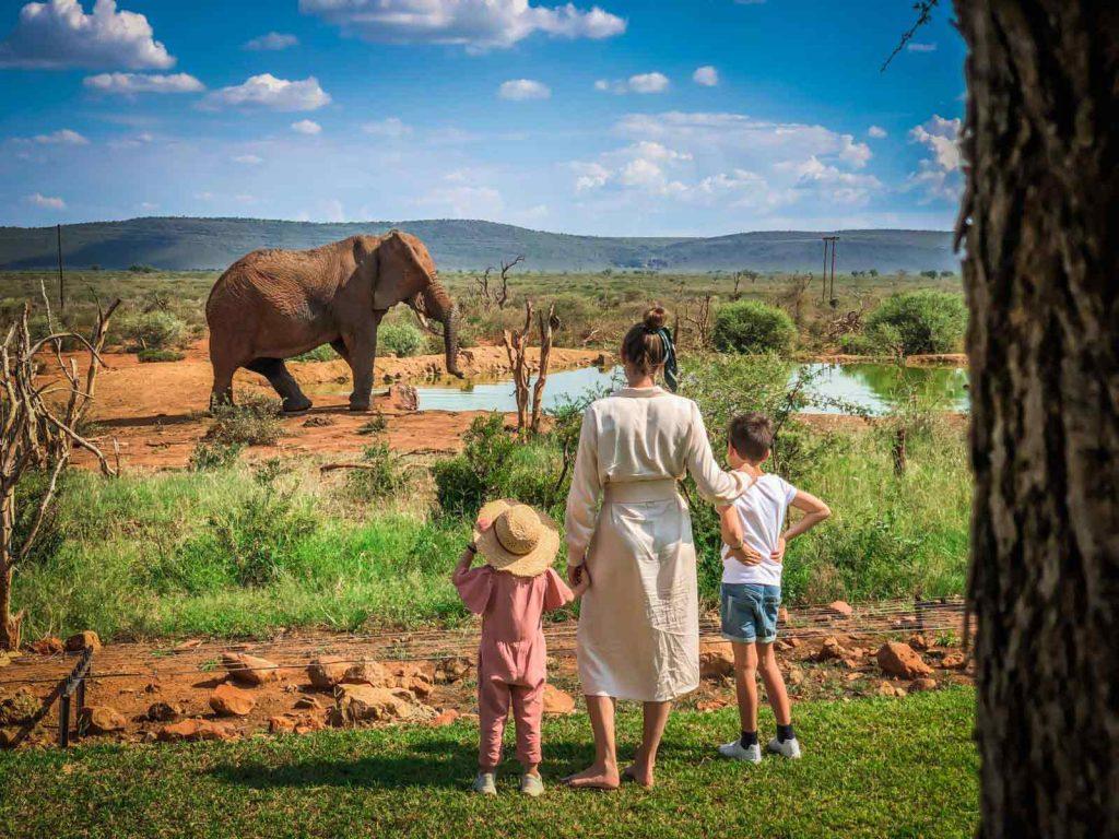 Malaria Free African Family Safari