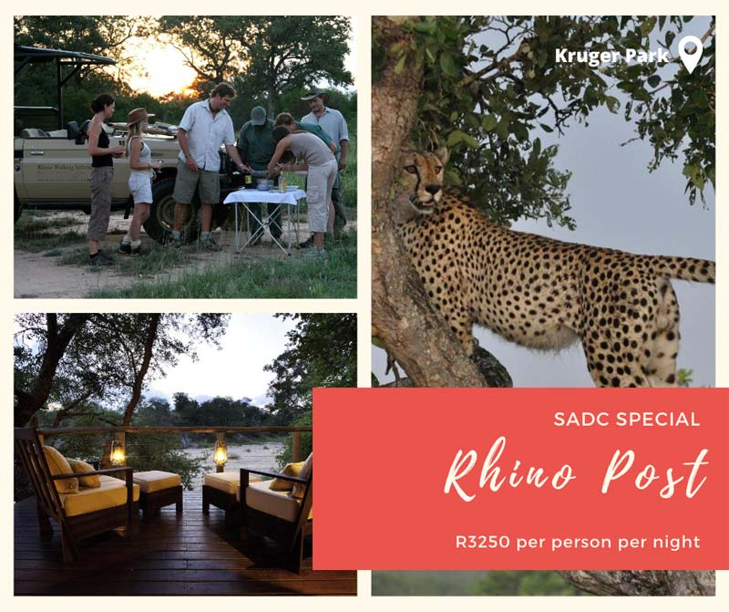 Rhino Post Kruger Park SADC Travel Deals 2020 - Sun Safaris