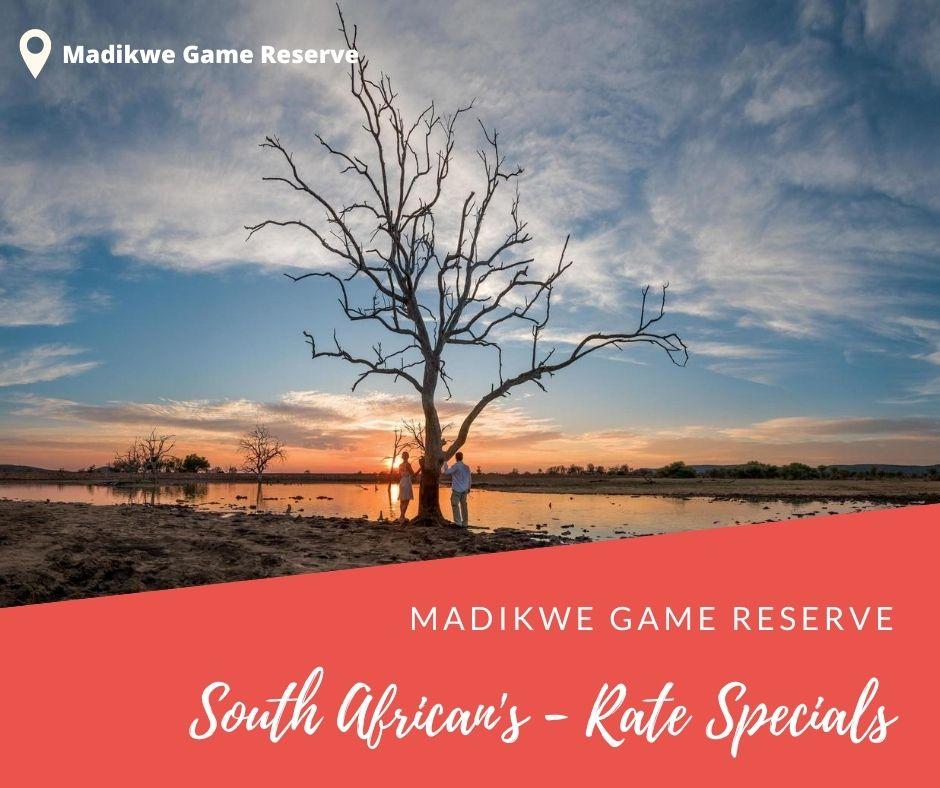 Madikwe SA Residents Travel Deals 2020