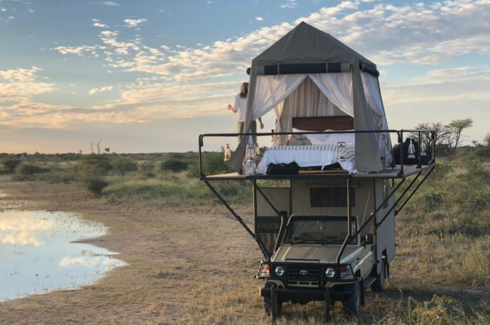 Onguma's Dream Cruiser is a Romantic Rooftop Tent